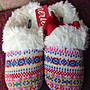 (BJGO) AMERICAN EAGLE AERIE COZY SLIPPER...