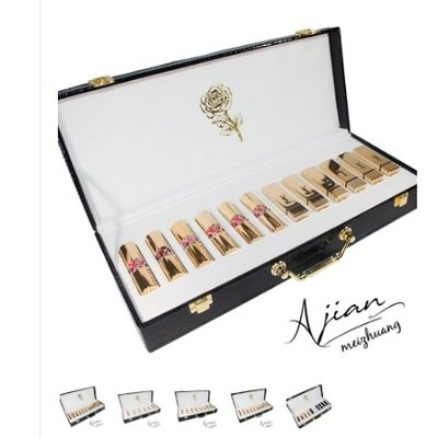 YSL聖羅蘭口紅禮盒方管/圓管/唇釉12只裝套盒10支8支表白生日禮物