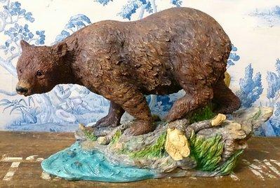 阿拉斯加大棕熊塑像:大棕熊 熊 阿拉斯加 塑像 收藏 設計 禮品 居家 家飾