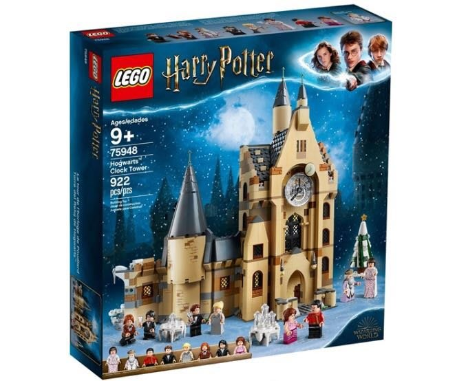 Lego 樂高積木-Lt75948哈利波特系列-Hogwarts Clock  Tower