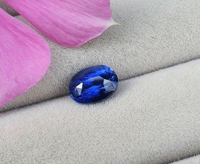 揚邵一品 特價中!(附權威證書)1.53克拉皇家藍藍寶石 超亮眼艷藍色 深邃濃郁 貴氣皇家氣場  喜歡皇家藍的朋友請不錯過