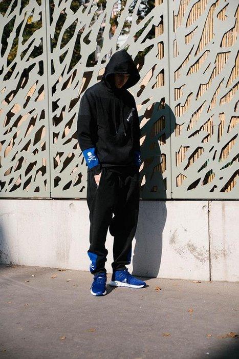 感恩節特價 現貨 Adidas X MASTERMIND WORLD MMW TRACK MMJ 長褲 暗黑 S M