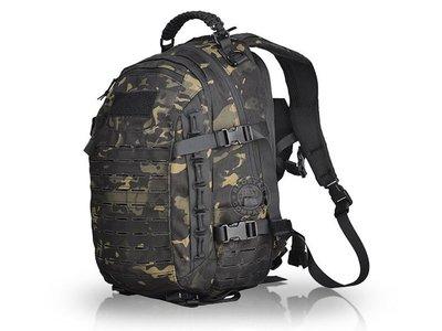 [01] Q2 雙肩 戰術背包 黑CP ( 槍盒槍包長槍袋軍規大容量野營登山旅行旅遊山地師露營登山包傘繩提把生存遊戲