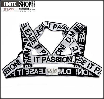 Finite-菲尼特-男士肩帶背帶 性感彈力運動胸帶歐美派對狂歡裝飾搭配潮時尚演