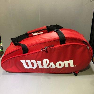 Wilson 網球袋  9支裝 球袋