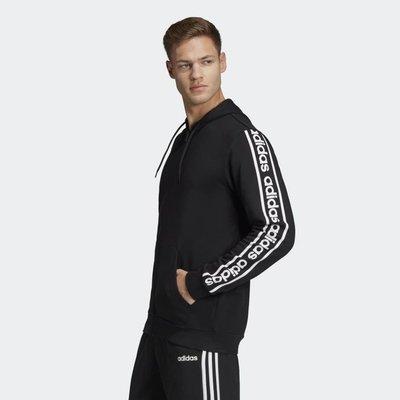 =E.P=Adidas M C90S BLACK 黑 愛迪達 串標 休閒運動外套 男款 EI5615