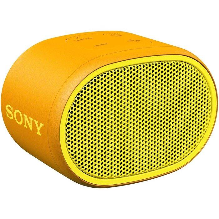 平廣 台灣公司貨保固一年送繞 SONY SRS-XB01 黃色 藍芽喇叭 喇叭 另售EX15LP FANTECH EG1