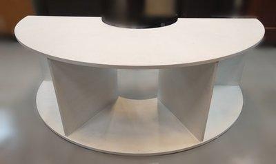 台中宏品二手家具 中古傢俱賣場 D3311*白色展示櫃 展示架 櫃檯 *便宜家二手家具拍賣 冷氣空調 冰箱電視 台中市