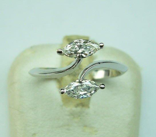 [吉宏精品交流中心]78分天然馬眼鑽石 造型戒指