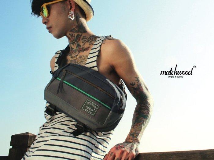 【Matchwood直營】Matchwood Potential 腰包 可肩背斜後背胸前背隨身包 藍灰款 超取免運優惠