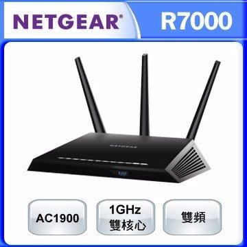 福利品 Netgear Nighthawk 夜鷹 R7000 11ac 1900Mbps 無線寬頻分享器