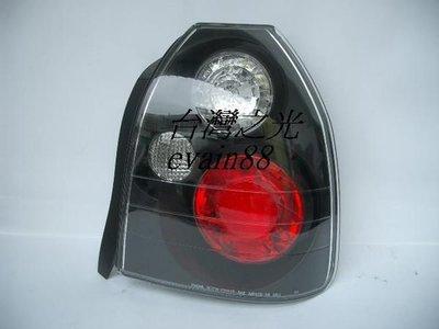 《※台灣之光※》全新HONDA本田CIVIC喜美六代K8 JC 96 97 98 99 00年3D三門IS黑底尾燈組