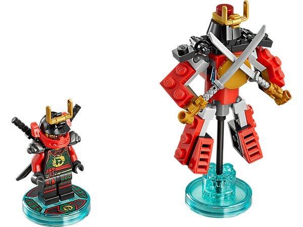 【LEGO 樂高 】100% 全新正品 益智玩具 積木/ Dimensions 忍者三合一次元系列 Nya 71216