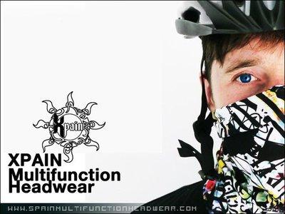 Xpain鈴木重機騎士保暖必備 西班牙多功能頭巾Spain Multifunctional Headwear脖圍 領巾
