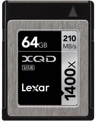 九晴天 租記憶卡、租相機 租鏡頭 租攝影機 出租~Lexar XQD 64GB 1400X