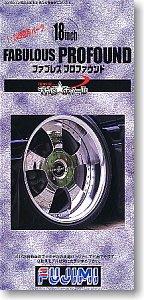 富士美汽車模型 1/24 輪圈輪胎 18寸 Fabulous Profound 19300