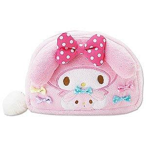 *凱西小舖*日本進口三麗歐正版MELODY美樂蒂&寵物粉兔系列收納/化妝包