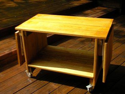 【 凱威工程 】南方松折疊工作桌
