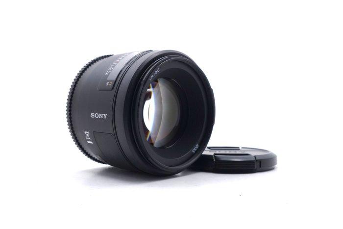 【台中青蘋果】Sony 50mm f1.4 SAL50F14 二手 定焦鏡 鏡頭 公司貨 #49637