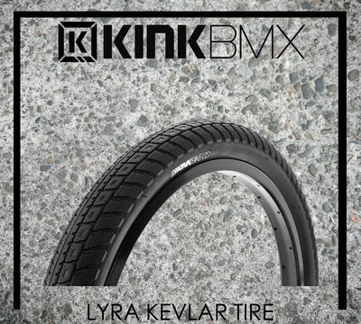 [Spun Shop] KINK BMX Lyra Kevlar Tire 折疊式輕量街道外胎