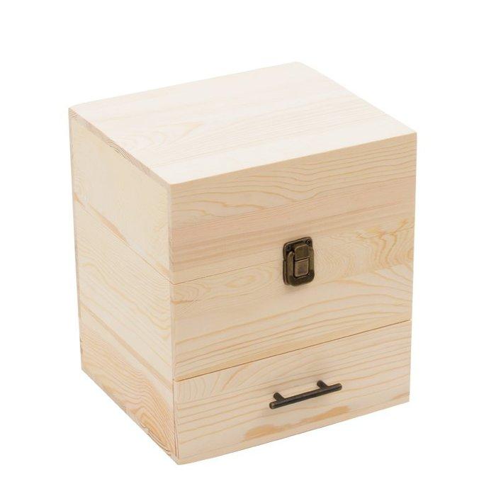 特價 快速出貨 多特瑞doTERRA 三層松木木盒59格 精油實木盒收納盒 滾珠瓶收納 純松木盒 5ml-15ml