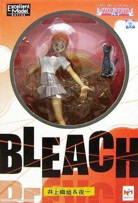 日本正版 MH Bleach 死神 井上織姬&夜一 模型 公仔 日本代購
