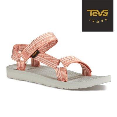 體育課TeVa TV1003987CPMT玫瑰粉 女碼 原創系列Original UNIVERSAL 織帶運動涼鞋