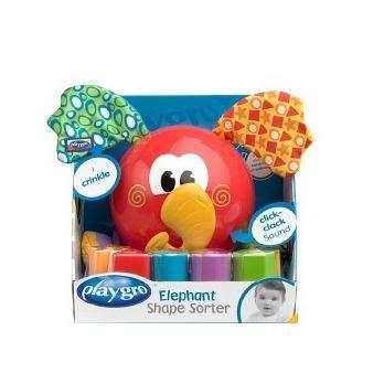 【魔法世界】澳洲 Playgro 培高 繽紛象益智學習盒 PG0180262【保證原廠公司貨】