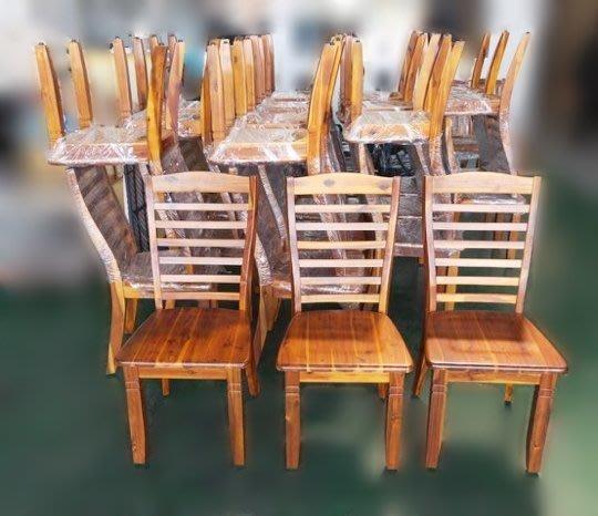 樂居二手家具 家電 便宜2手傢俱拍賣EA0222JH*庫存實木相思木餐桌椅* 衣櫥 櫥櫃*臥室傢俱 床組 床墊 床架