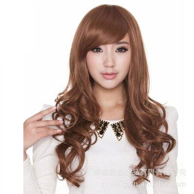 水媚兒假髮7M070♥新款女士假髮 時尚長捲髮♥ 現貨或預購 團購批發