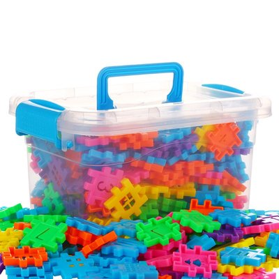 積木城堡 迷你廚房 早教益智兒童塑料方塊數字拼插積木3-6周歲男女孩幼兒園寶寶益智拼裝玩具