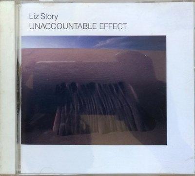 《絕版專賣》Liz Story 麗茲史朵瑞 / Unaccountable Effect 鋼琴獨奏 (日版.無IFPI)