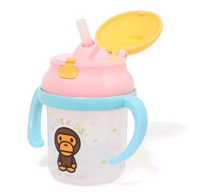 XinmOOn BAPE BABY MILO STRAW HOPPER MUG 學習杯 水壺 兩側手把學習杯 兩側手把