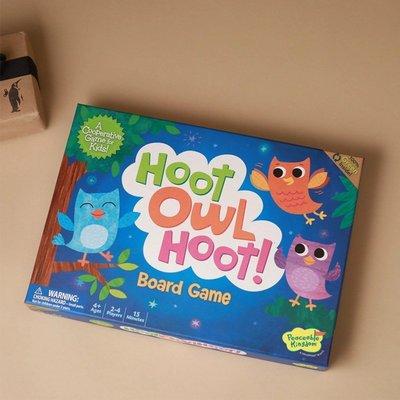 貓頭鷹回家 Hoot Owl Hoot!英文版GLDS391竹孔雀
