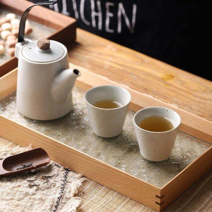 MAJPOINT*復古窗花玻璃 托盤 茶盤 收納 餐具 置物 餐盤 文青風 簡約 胡桃木 櫸木 工藝品 鄉村風 日雜貨