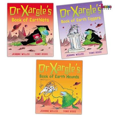 [邦森外文書] Dr Xargle Picture Book Collection - 3 Books 平裝本套書