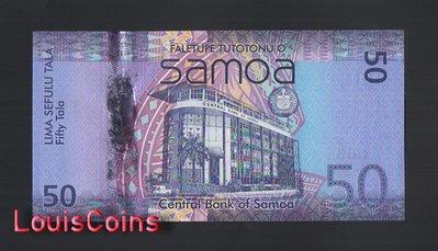 【Louis Coins】B1316-SAMOA-ND (2012)薩摩亞紀念紙幣,50 Tala