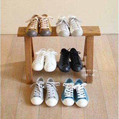*Gladness day 日韓代購*預購 日本 SPICE OF LIFE 雨季必備 PVC 防水輕便小白鞋 雨鞋