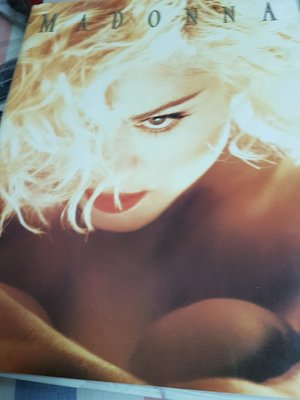 Madonna 1990 Blonde Ambition 日本演唱會場刊