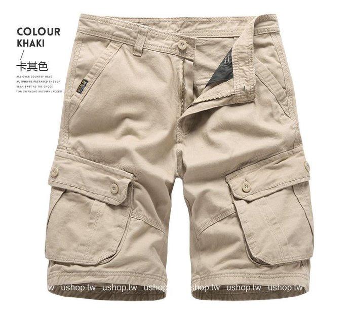 歐美潮牌沙灘休閒純棉褲