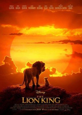(電影海報) 獅子王 真人版 Lion King 辛巴 澎澎 丁滿 刀疤 娜娜 木法沙 迪士尼 森林之王
