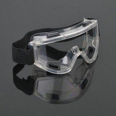 透明護目鏡S50C-四氣孔防起霧款 全罩式安全防護鏡 安全眼鏡 防風沙 防塵【GG302C】 EZ生活館