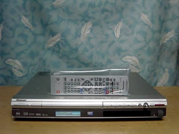 Y保固1年【小劉二手家電】日本製PIONEER DVD錄放影機,DVR-310型,附原廠遙控器,壞機也可修/抵!