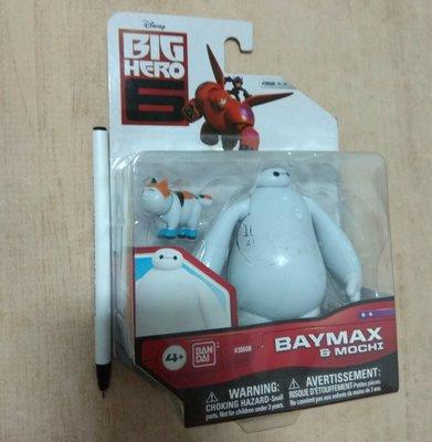 迪士尼 BANDAI  大英雄天團  杯麵 貓咪 公仔 玩具 盒玩