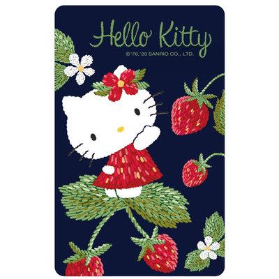 SANRIO HELLO KITTY三麗鷗凱蒂貓草莓裝悠遊卡