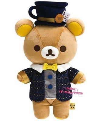 ☆Mika☆ 日本正版 RILAKKUMA 懶懶熊 拉拉熊 娃娃 玩偶 890含運~