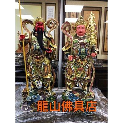 2尺2韋陀護法級彩觀音佛像 觀世音菩薩雕刻 木刻藝品 神明廳神像 佛堂佛像 神桌佛像 龍山佛具店