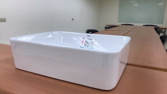 FUO衛浴: 國寶品牌48X37公分優質陶瓷盆 F2104便宜出清