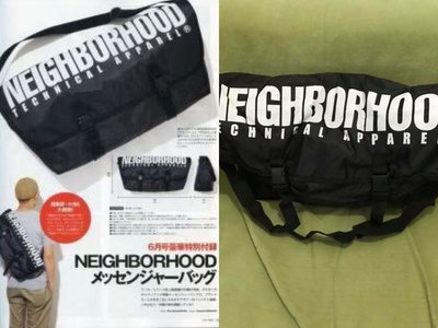 全新 正貨 NEIGHBORHOOD NBHD限量版 郵差袋斜背袋