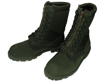 (W)麂皮鞋 國軍最新麂皮戰鬥靴 ((運動鞋底)) 台灣軍威大廠製作 底部有車縫線 休閒 旅遊 工作 生存遊戲